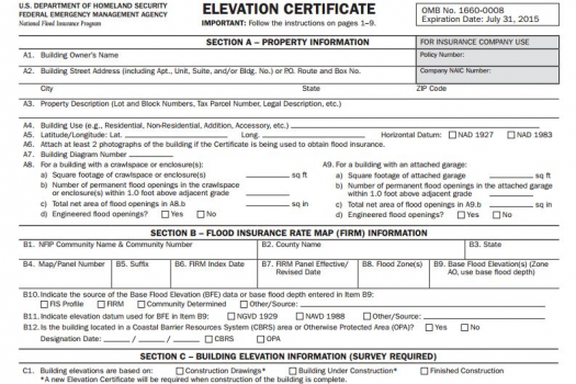 Lowest Floor Elevation Fema Form : Hoover land surveying …a pro engineering marketing